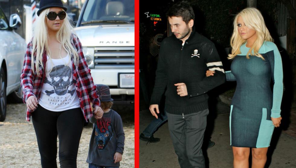 SLANKERE: Christina Aguilera ser slankere ut i dag enn hun gjorde i oktober i fjor.  Foto: All Over Press
