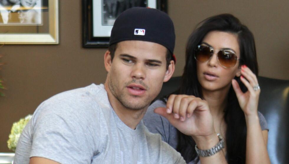 INNRØMME JUKS: Humphries ønsker å bevise at Kardashian kun giftet seg for penger, og aldri ønsket å forbli gift. Ekteskapet sprakk etter 72 dager. Foto: All Over Press
