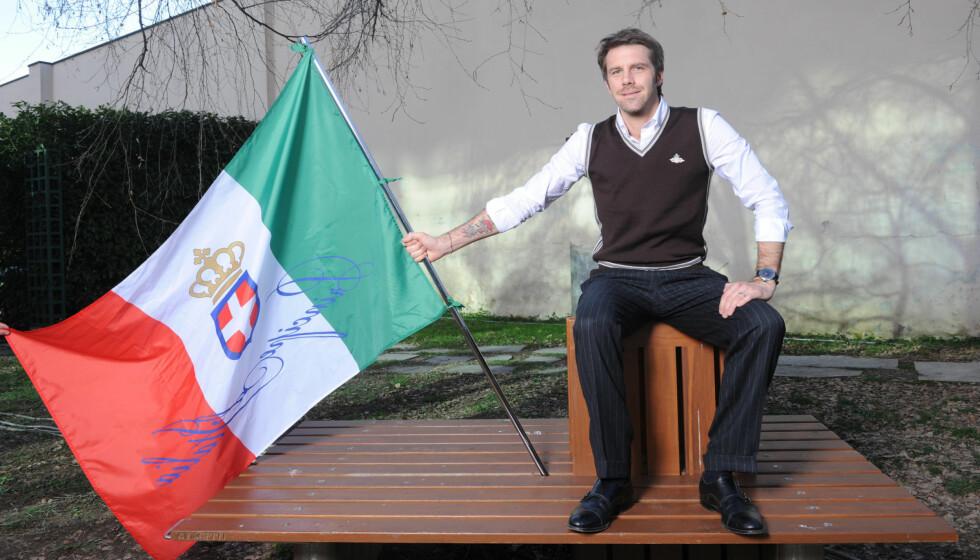 EKSILPRINS: Til tross for at kongehuset Savoie forsvant da Italia ble gjort til en republikk i 1946, bruker Emanuel Filiberto fortsatt sin prinsetittel. Foto: Stella Pictures