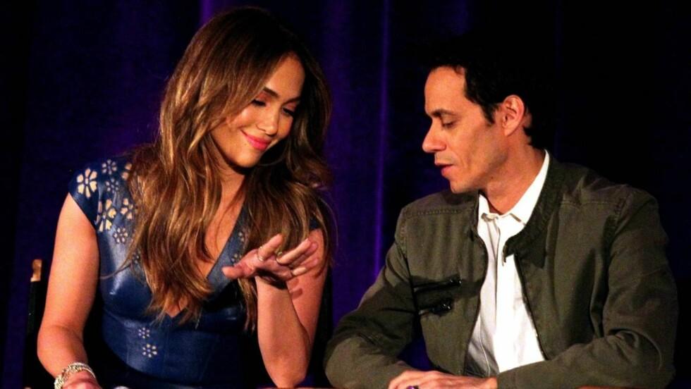 <strong>SKILLES:</strong> Marc Anthony har søkt om skilsmisse fra Jennifer Lopez. Foto: All Over Press