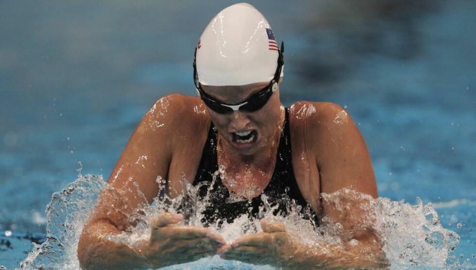 <strong>HÅPER PÅ NY SUKSESS:</strong> Amanda Beard svømmer fortsatt aktivt og håper på ny suksess under sommerens OL i London. Foto: All Over Press