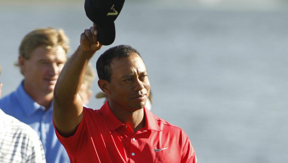 SKANDALE: Tiger Woods skal ha vært utro med over 100 kvinner. Foto: NTB scanpix