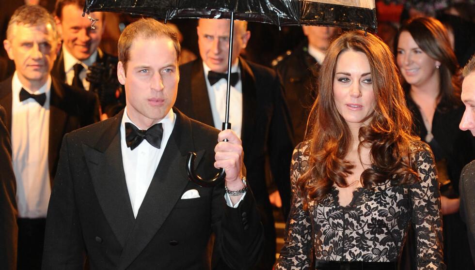 DRO PÅ KJÆRLIGHETSFERIE: Prins William og hertuginne Kate dro på skiferie.  Foto: Stella Pictures