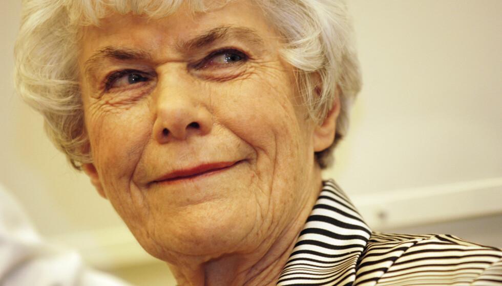 INNHOLDSRIKT LIV: Ingrid Espelid nærmer seg 90 år og har opplevd både gode og onde dager. Foto: SCANPIX
