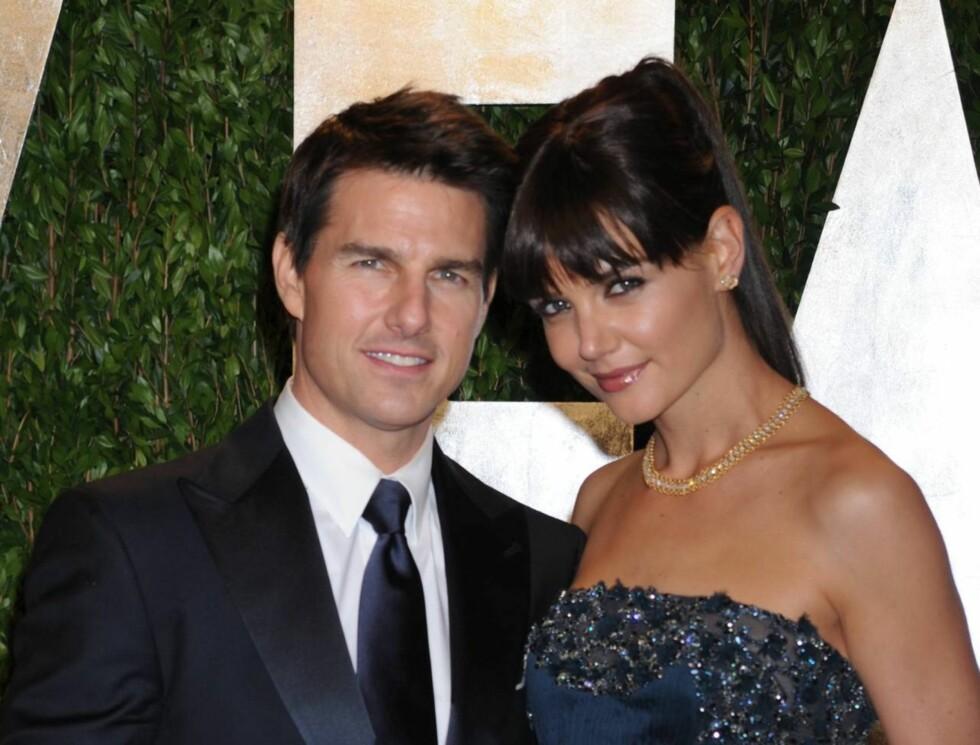 <strong>STJERNEFORELDRE:</strong> Suri Cruise var født til berømmelse med foreldre som Tom Cruise og Katie Holmes.  Foto: All Over Press