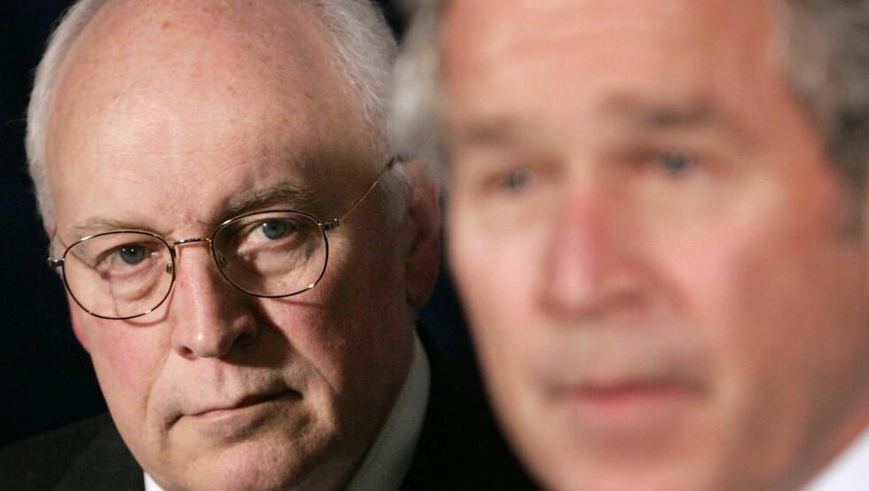 <strong>VISEPRESIDENT:</strong> Dick Cheney var visepresident under George W. Bush. Han har hatt en rekke hjerteproblemer, og hadde sitt første hjerteinfarkt da han var 37 år gammel. Foto: Scanpix