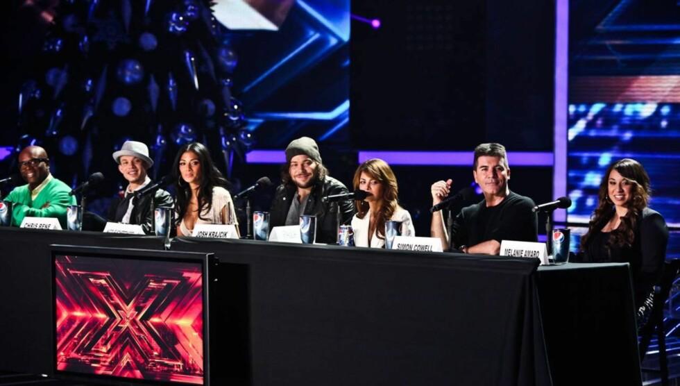 <strong>KONTROVERSIELL:</strong> Simon Cowell har fått mange fans og motstandere på grunn av sine tilbakemelding i talentprogram som «X Factor». Foto: All Over Press