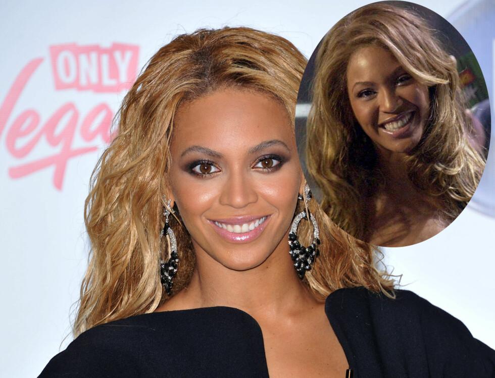MINDRE: Beyoncé Knowles nese har blitt mindre med årene.  Foto: Stella Pictures