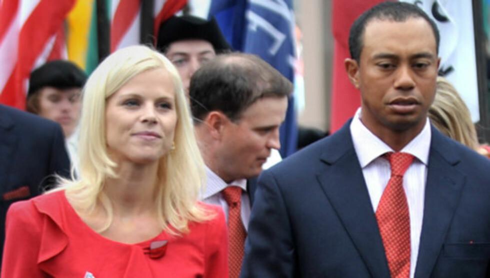 KONTROVERSIELLE PÅSTANDER: Tiger Woods' tidligere trener Hank Haney hevder golfstjernen nektet sin svenske kone Elin Nordegren å feire triumfene hans. Foto: Stella  Pictures