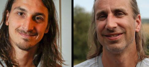 - Det er Zlatan som ligner på meg