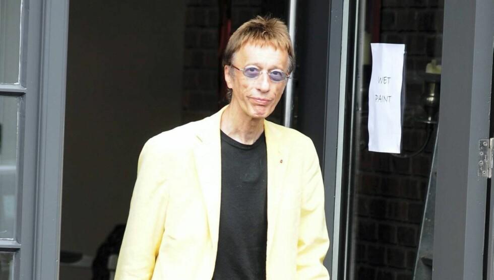 HASTEOPERERT: Gibb ble mandag hasteoperert for blodpropp i tykktarmen. Foto: All Over Press