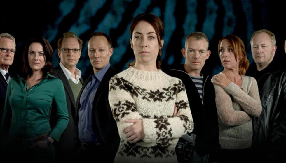 KONGELIG BESØK: Gjengen i Forbrytelsen får snart besøk av kongelige.