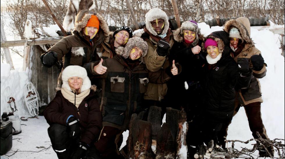 LAG SØR: Marthe er en del av lag sør i Vinter-Robinson og synes konkurransen og intrigene var mentalt slitsomt.  Foto: TV3
