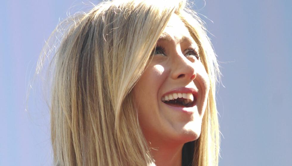 <strong>GAVMILD:</strong> Jennifer Aniston viser virkelig hvor mye hun setter pris på sin nye kjæreste.  Foto: Stella Pictures