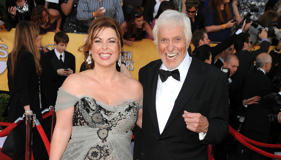 GIFTET SEG: Dick Van Dyke giftet seg med 46 år yngre Arlene Silver. Foto: All Over Press
