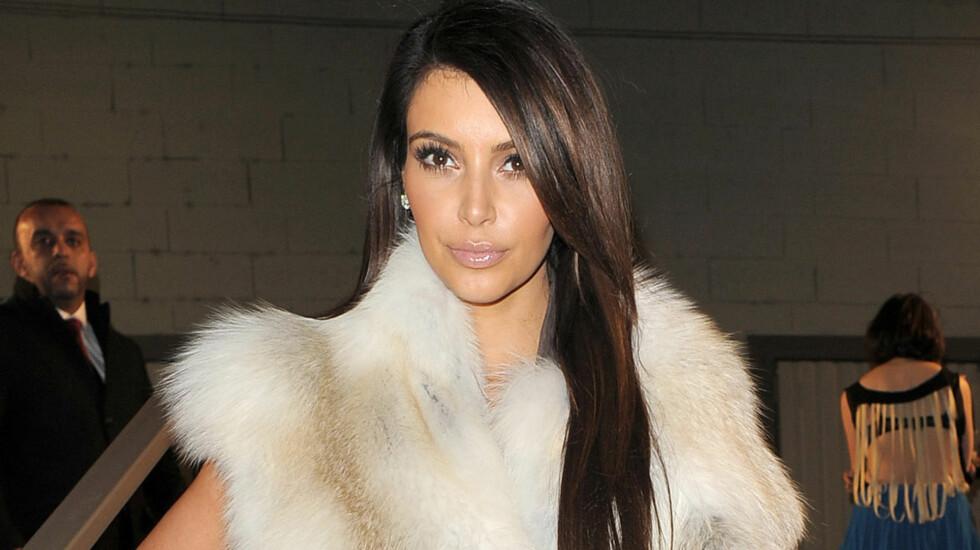 STEMPLET SOM DUM: Kim Kardashian slår nå tilbake mot Jon Hamm som kalte henne dum.  Foto: All Over Press