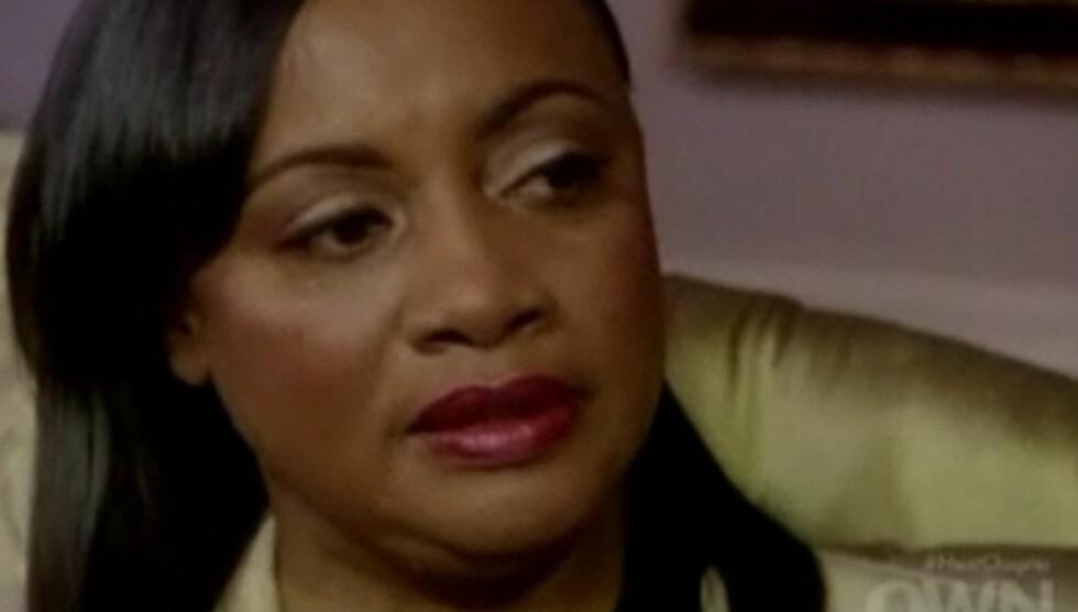 <strong>SKEPTISK:</strong> Patricia Houston er fortsatt usikker på hendelsene rundt svigerinnen Whitney Houstons død.  Foto: OWN