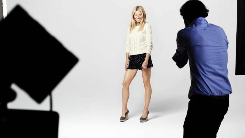 NY JOBB: Gwyneth Paltrow er plukket ut til å være den svenske kleskjeden Lindex' ansikt utad. Foto: Lindex