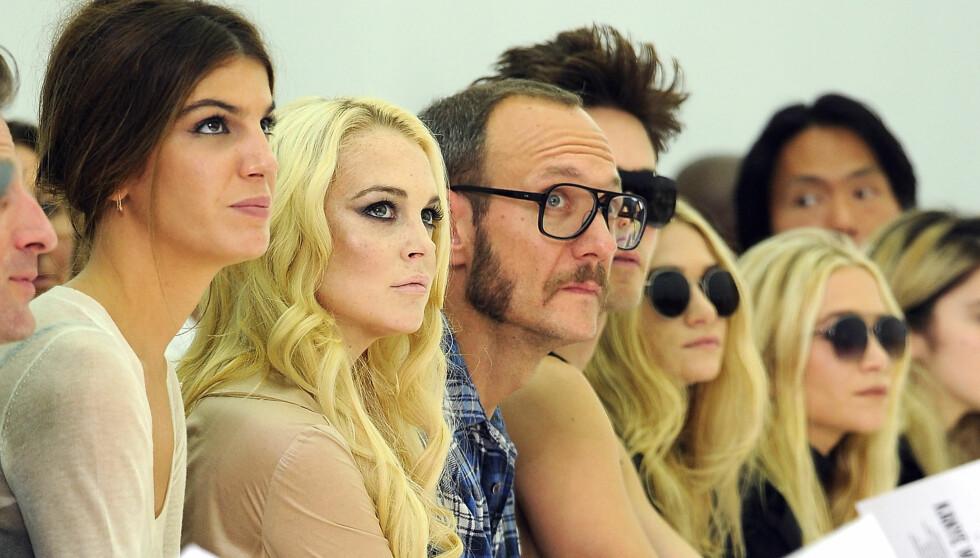 ØNSKER FORHOLD: Kilder hevder Lindsay Lohan ønsker å bli sammen med Richardson. Foto: All Over Press