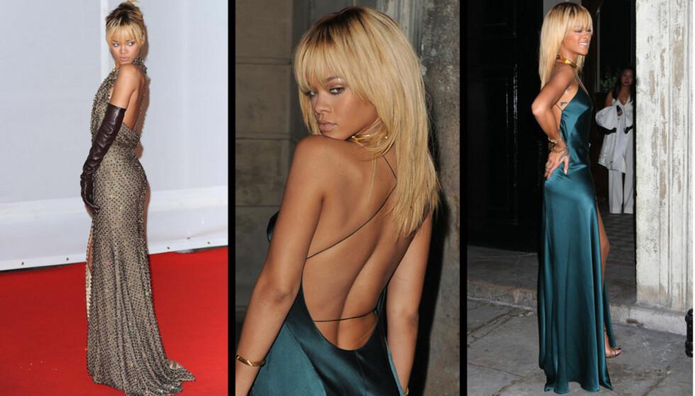 HARDE KRAV: Rihanna har harde krav fra sin far, som mente hun begynte å bli feit.  Foto: All over press