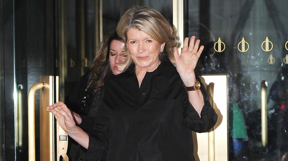 <strong>BLE BESTEMOR:</strong> Torsdag ble Martha Stewart bestemor for andre gang da datteren Alexis fødte en sønn.  Foto: All Over Press