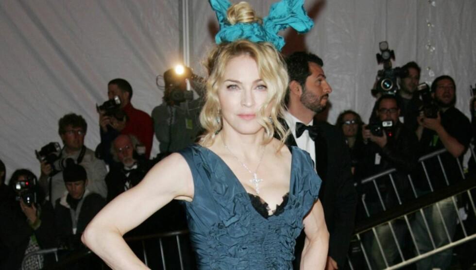SLÅR TILBAKE: Madonna mener Lagerfelds kommentarer er latterlige. Foto: All Over Press