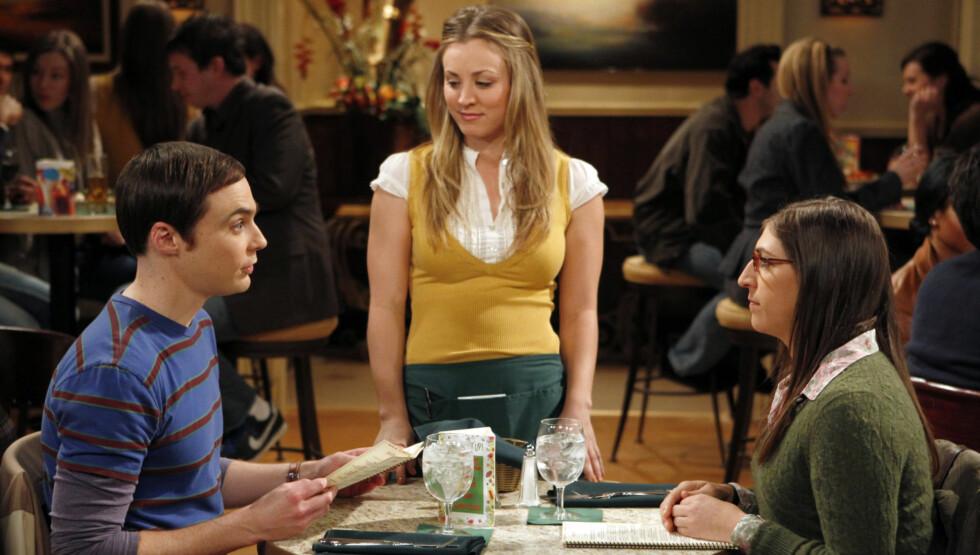 TV-STJERNE: Kayley Cuoco gjør for tiden stor suksess i rollen som «Penny» i TVNorge-serien «The Big Bang Theory» Foto: TVNorge