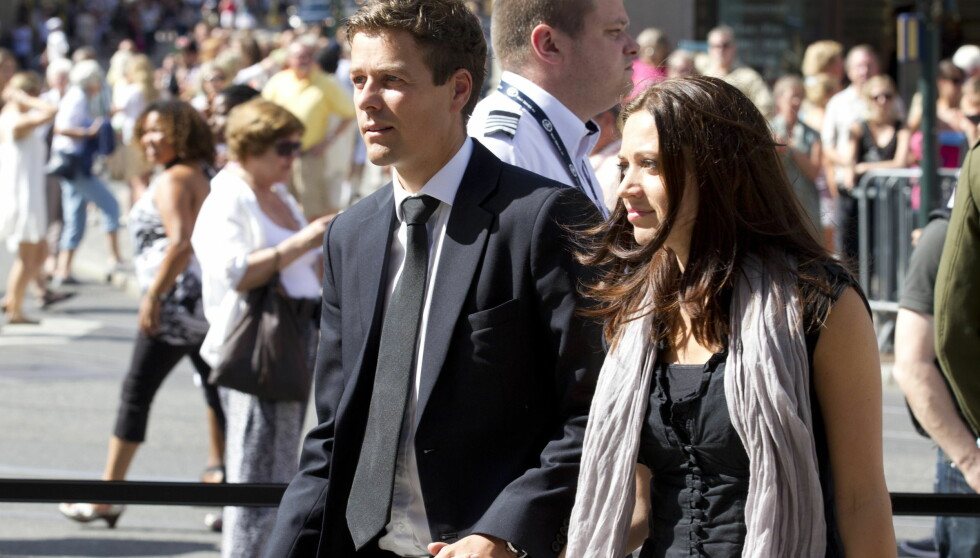 GIFTER SEG: KrF-leder Knut Arild Hareide skal gifte seg med sin kjæreste Lisa Maria Larsen 23. juni.  Foto: SCANPIX