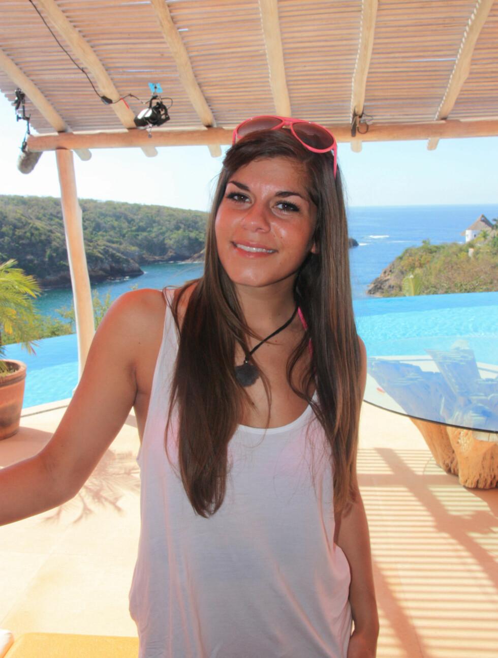 KLAR FOR PARADISE HOTEL: Kristin E. GJelsvik (25). Fra Bergen, bor i Oslo. Jobber som salgssjef. Foto: Sølve Hindhamar, Seher.no