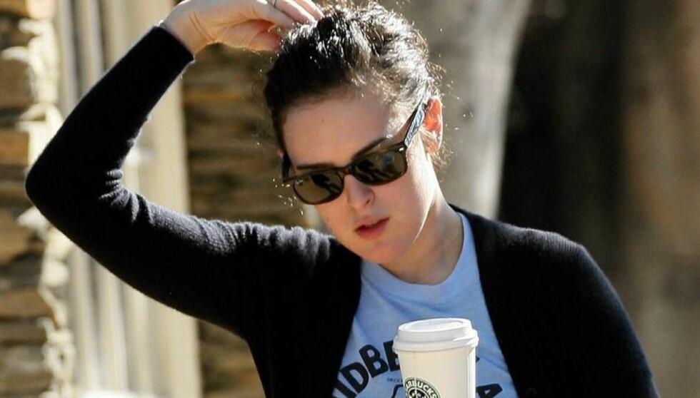 RUNDSTJÅLET: Rumer Willis ble frastjålet verdier for over 50 000 kroner fra sitt hus i Los Angeles, mens hun i forrige uke var på reise i Tyskland. Foto: All Over Press