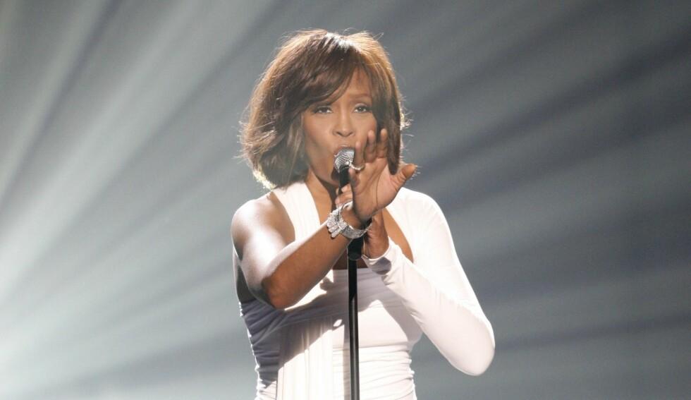 VILLE MØTE JESUS: I dagene før hun døde skal Whitney Houston ha lest i bibelen og snakket om at hun ønsket å komme nærmere Jesus.  Foto: All Over Press