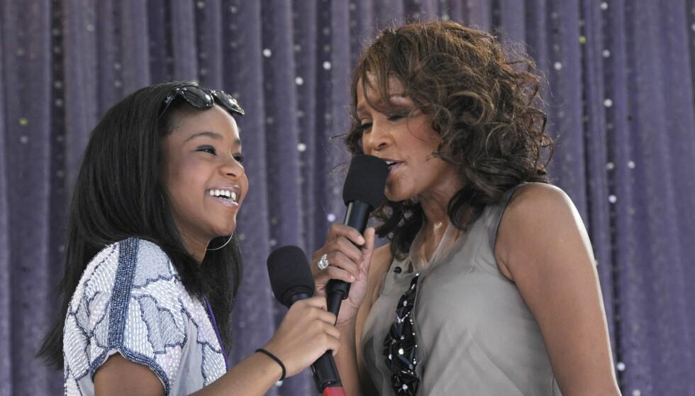 BLE FUNNET DØD: Kilder hevder Bobbi Kristina Brown befant seg i lobbyen på hotellet samtidig som Whitney Houston ble funnet død i badekaret på rommet sitt. Foto: All Over Press