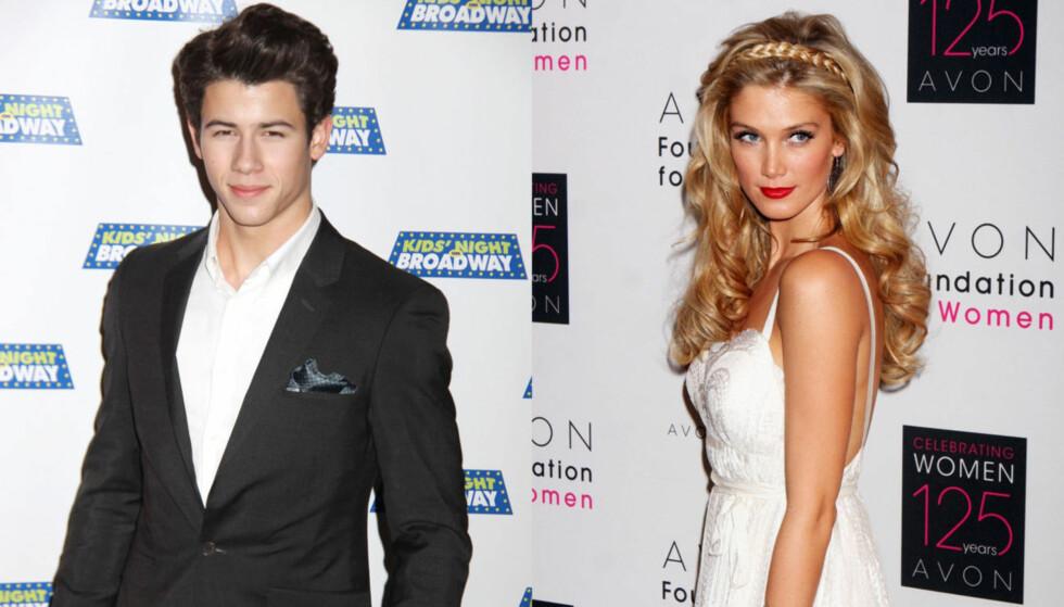 <strong>SLUTT:</strong> Delta Goodrem og Nick Jonas har datet siden i mai i fjor. Nå har stjerneparet gått hvert til sitt. Foto: Stellapictures