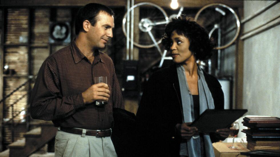 <strong>HOLDER TALE:</strong> Kevin Costner skal holde tale i Whitney Houstons begravelse på lørdag. De spilte mot hverandre i den romantiske thrilleren «The Bodyguard» fra 1992.   Foto: Stella Pictures