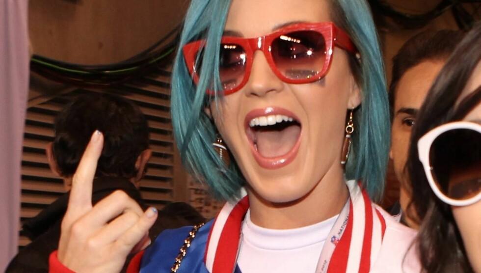 FERDIG MED RUSSELL: Katy Perry har kommet over eks-mannen og er klar for å gå videre med livet sitt.  Foto: All Over Press