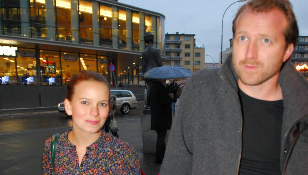 SJELDENT SYN: Det siste året forklarer Thom Hell at han nesten ikke så Marit Larsen i det hele tatt. Foto: Stella Pictures