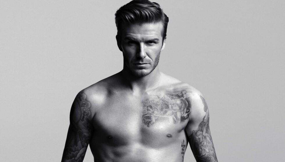 TOPPTRENT: David Beckham i H&Ms nye reklamekampanje.  Foto: H&M