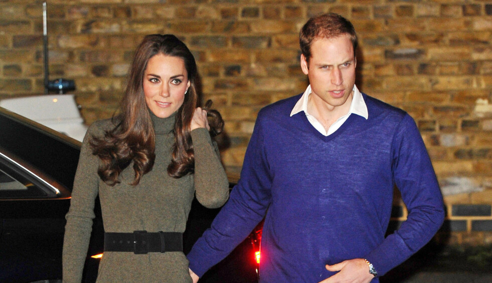 <strong>BLE SKREMT:</strong> Prins William og Hertuginne Kate fikk en lite hyggellig flyopplevelse nylig. Foto: Stella Pictures