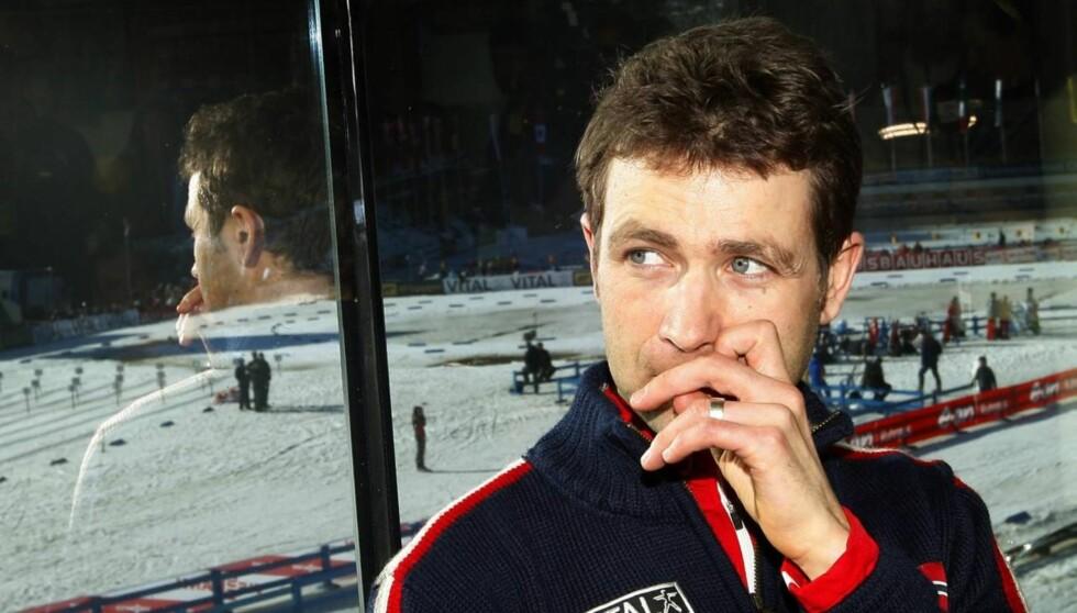 MISTET KAMERATEN: Ole Einar Bjørndalen har trent med og konkurrert mot Leitgeb. Foto: SCANPIX