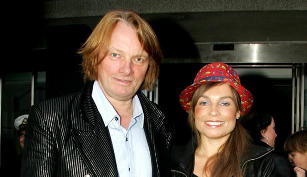 LIKE: Jan Eggum forteller at det første han ser hos en kvinne er ansiktet. Her er han med kona Kaia Huuse.