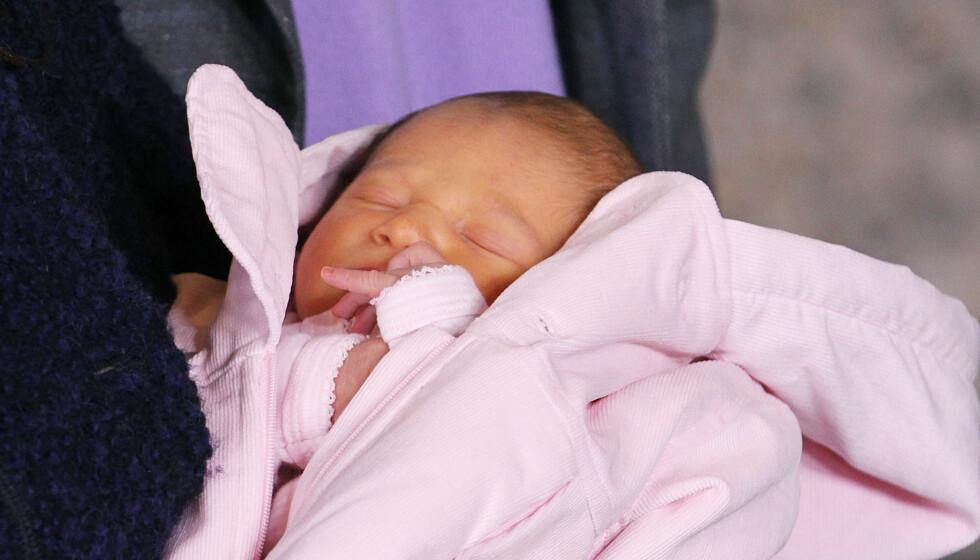 GULSOTT? Bilder av danmarks nye prinsesse får en profilert lege til å mene at prinsessen har gulsott. Det benekter slottet.  Foto: Stella Pictures