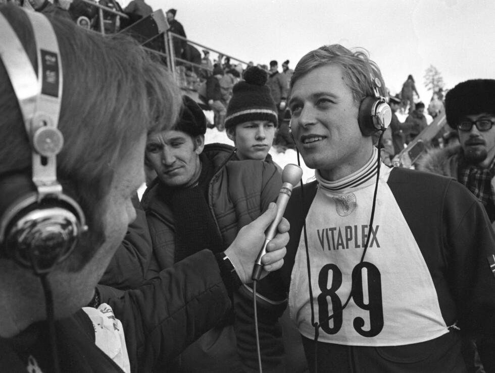 LEGENDE: Ingolf Mork var en av Norges mest populære vinteridrettsutøvere på 70-tallet. Foto: Scanpix