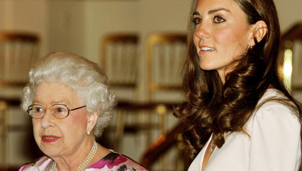 JUBILANT: Hertuginne Kate vil ikke sette dronning Elizabeth 2. i skyggen dette året. I år feirer nemlig 85-åringen at hun har sittet 60 år på den engelske tronen. Foto: Stella Pictures