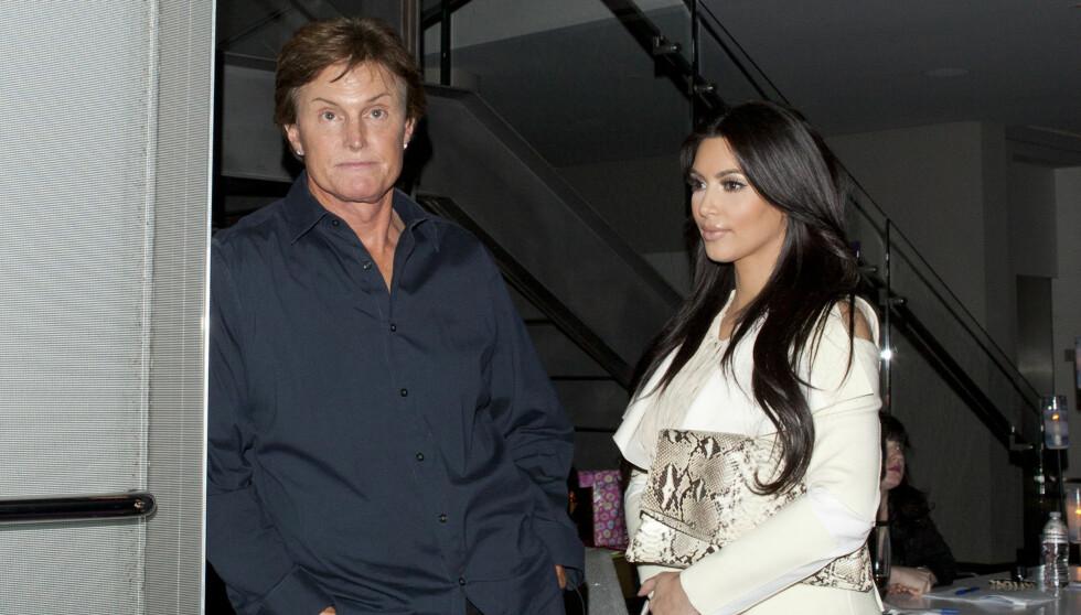 <strong>HØRTE DET PÅ NYHETENE:</strong> Bruce Jenner fikk vite om skilsmissen på nyhetene. Foto: All Over Press