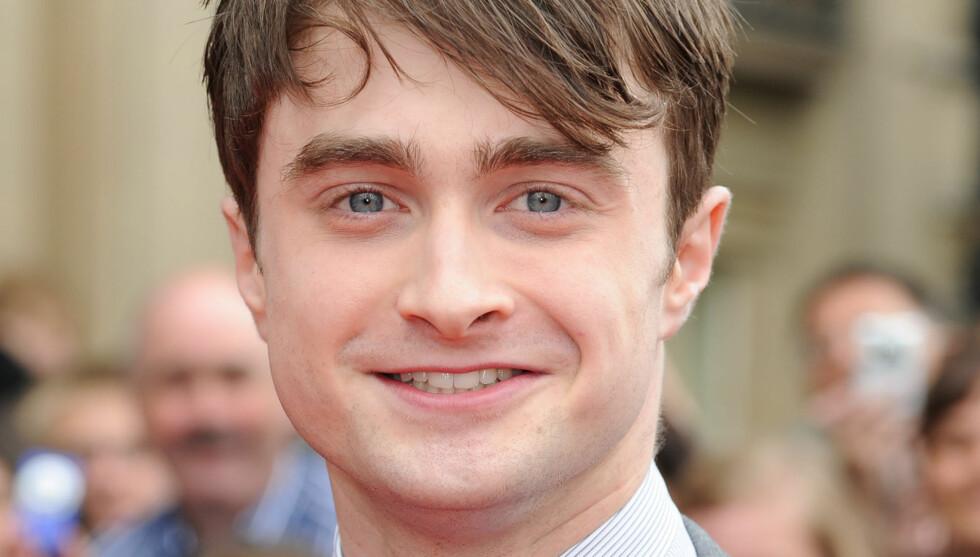 HÅRETE: Daniel Radcliffe liker ikke jenter med ingenting «der nede». Foto: Stella Pictures