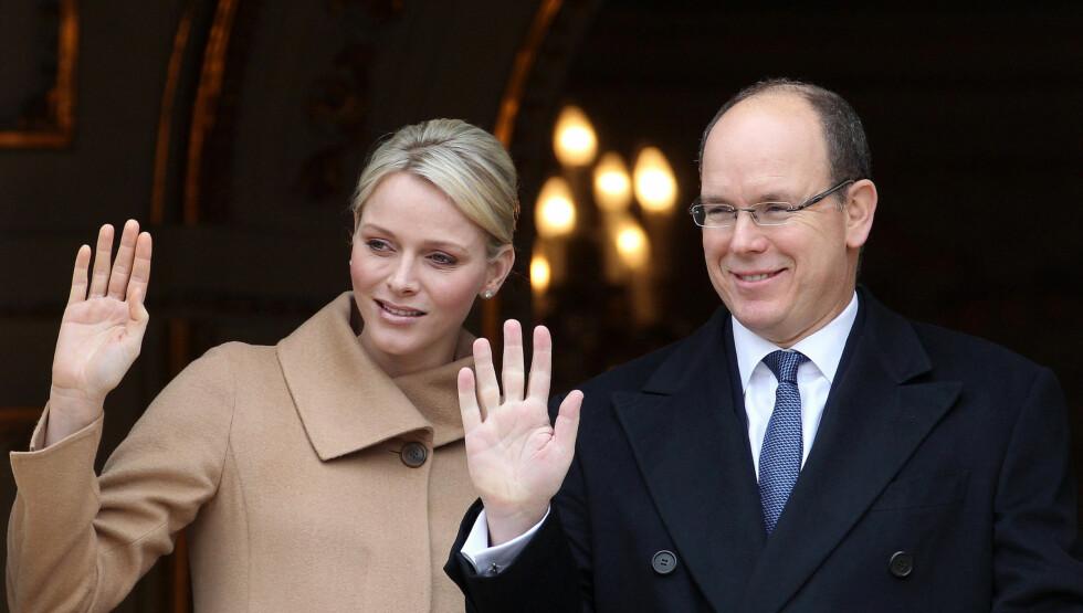OSCAR-KLARE: Fyrst Albert og Charlene skal kaste kongelig glans over Oscar-utdelingen.  Foto: All Over Press