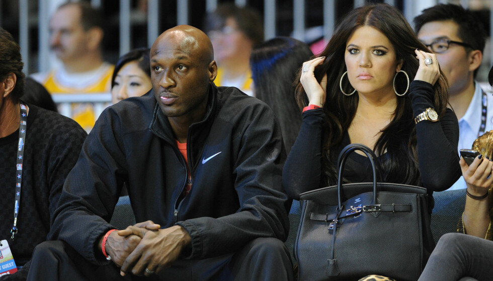 HJELP: Lamar Odom og Khloe Kardashian har et sterkt ønske om et felles barn. Foto: Fame Flynet