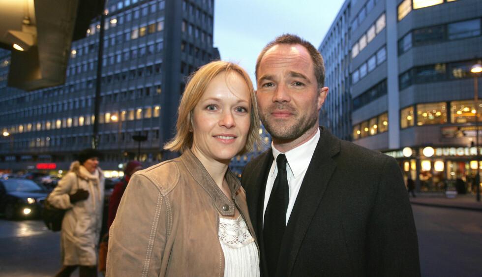 GIFT OG TRE BARN: Caroline Giertsen Øigarden og Jon Øygarden. Foto: FAME FLYNET