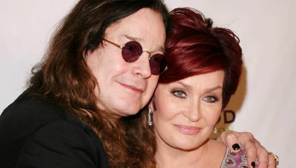 GODT SEXLIV: Sharon Osbourne giftet seg med rockeren Ozzy for over 30 år siden, og skryter av at de fortsatt har sex mange ganger i uken.  Foto: All Over Press