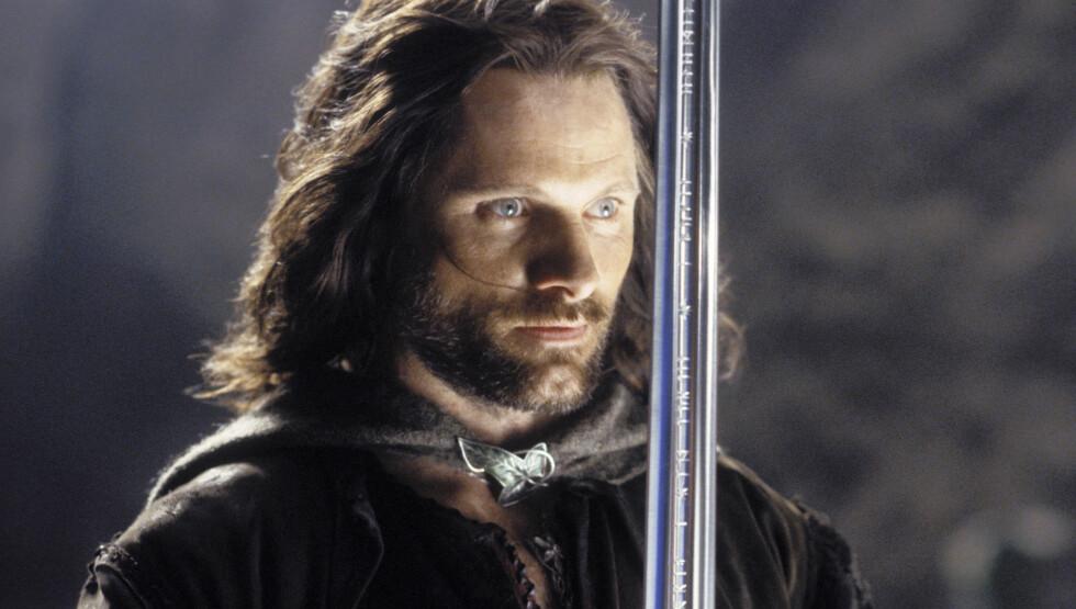 SUPERSTJERNE: Gjennom rollen som Aragorn i Ringenes Herre-trilogien ble Viggo Mortensen et velkjent navn verden rundt. Foto: Stella Pictures